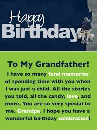 Check spelling or type a new query. Many Fond Memories Happy Birthday Card For Grandfather Birthday Greeting Cards By Davia