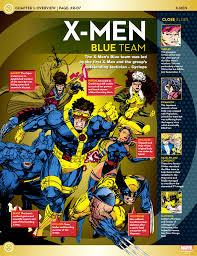 x men lineup blue team