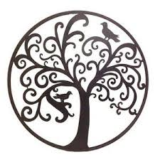 sculptures circles black tree with two bird branch mysterious picture carve artistic pinterest chrome artistic decoration on large external wall art with wall art top ten galleries outside metal wall art patio wall decor