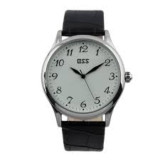 ess men s classic black cheap leather white quartz wrist watch ess men s classic black cheap leather white quartz wrist watch