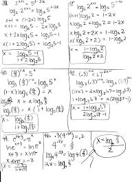 algebra solving exponential equations
