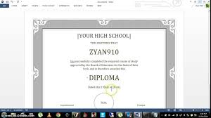 how to create your own diploma  how to create your own diploma