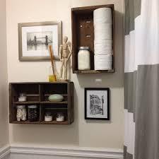 bathroom storage ideas for small spaces unique open storage shelving takes advantage house architecture black elegant wooden drawer under floating ledge