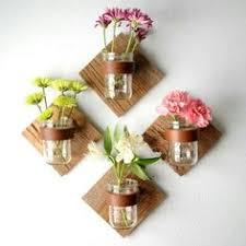 fall wall sconce individual mason jar sconce flower vase mason