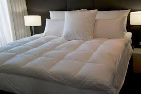 thick mattress topper. Queen Size Mattress Topper 85% European Duck Down Dual Layer Extra Thick, Its Like Two Toppers In One Thick