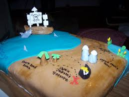 Pirate Cake 049 This Is The Map As A Whole The Areas Are Flickr
