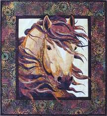 Horse Quilt Pattern Amazing Summer Breeze Horse Quilt Quilting Pattern From Toni Whitney Design
