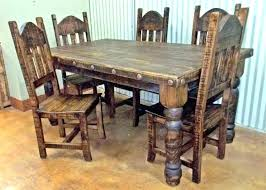 dining room table kitchen table chairs set dining round painted wood pedestal dinning rustic dinner