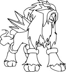 Coloriage Pokemon Pas A Imprimer L