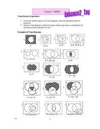 Sets Venn Diagram Shading Set2 By Mohd Nur Iman Md Yusof Issuu