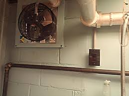 kitchen exhaust fan. New Exhaust Fan Installed Over The Kitchen Sinks. T