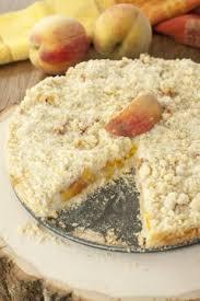 Italian Fresh Peach Crumb Cake Wishes And Dishes