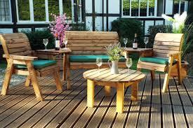 to treat wooden garden furniture