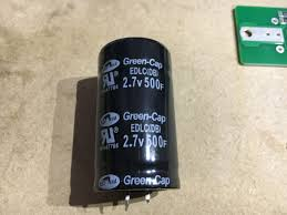 12v super capacitor bank jabawok industries wiring the capacitors in serial actually decreases the overall farads of the bank so 6 x 2 7v 16 2v but the farads are divided by 6 to give you 83 333f
