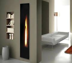 full image for mirrored wall mount fireplace tuesday morning linear fireplace the unexpected vertical way wall