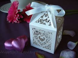 Wedding Table Favor Boxes