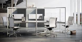 new office desk. Hub Square Office Desk With Over Head LED Lighting New O