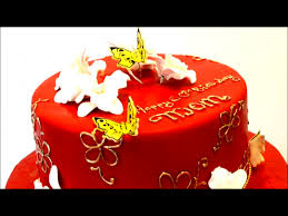 Mother Birthday Cake Chines Idea Mom Youtube