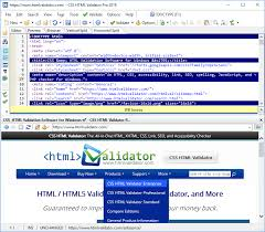 CSS HTML Validator Screenshots