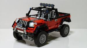 LEGO MOC-2067 AWD Pickup Truck (Technic > Model > Traffic 2014 ...