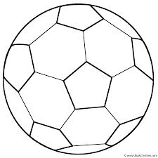 Small Picture Soccer Ball Coloring Page Sports