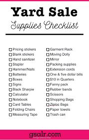 host the perfect garage printable set price list the o printable garage supplies checklist