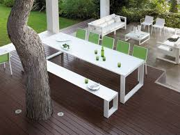 white patio furniture. White Modern Outdoor Patio Furniture