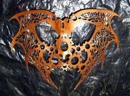custom made metallic dragon fantasy steampunk leather mask design 1 2 masks