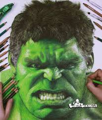 Hulk is seen as usual in an aggressive mood in this coloring page and is ready to fight. Drawing The Hulk Imgur
