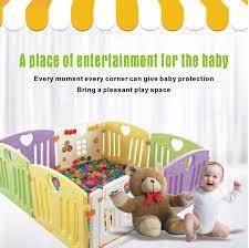 baby playpen kids activity centre safety play yard home indoor outdoor new pen 8 panels