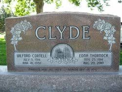 Wilford Cornell Clyde (1914-1997) - Find A Grave Memorial
