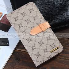 Designer Iphone 6s Plus Luxury Designer Gg Logo Leather Wallet Cases For Apple