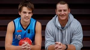 Brisbane Lions: Michael Voss' son Casey hopeful of getting drafted ...