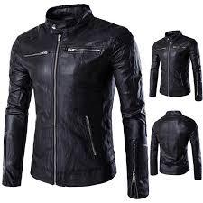 british collar collar leather jacket jacket m 5xl