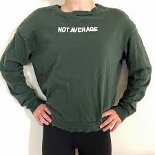 Divided By H M Not Average Sweatshirt