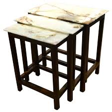 viyet designer furniture tables boston mills tyl onyx and rosewood nesting tables