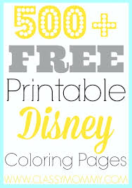 free coloring pages printable disney free free coloring pages free printable coloring pages disney