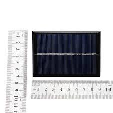 LEORY <b>6V 0.6W</b> DIY Solar Power 90*60*3mm Mini Polycrystalline ...