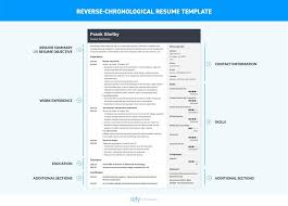 Chronological Format Resume Delectable Chronological Resume Inspirationa Chronological Resume Template 48