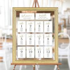 Table Seating Chart Online Wedding Seating Chart Template Set Printable Table Seating
