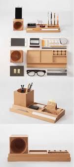 wooden office table. Wooden Office Desk Stationery Organizer Pen Pencil Holder Storage Box Smart Phone Speaker Sound Amplifier Table