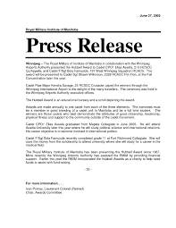 Sample Press Release Template Best Photo Gallery For Website Pic