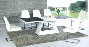 extending dining table and 6 chairs extending table and 6 chairs black dining table 6 chairs