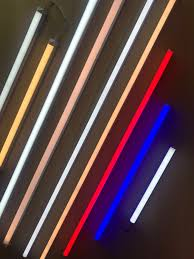 Led Color Tube Lights Led Tube Light 0 6m 0 9m 4 Available Colors On Carousell