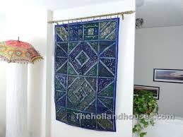 fabric art wall hanging ideas decorative hangings home design area