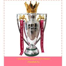 Ready Stock Premier League Champions EPL Trophy Barclays Cup Manchester  United Liverpool fans souvenirs