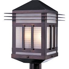 maxim lighting gatsby 2 light burnished outdoor pole post mount 8725prbu the home depot