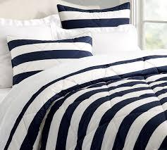 marlo stripe comforter shams