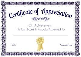 Fillable Certificates Fillable Certificate Of Appreciation Best Of Certificate