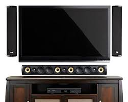 home theater front speakers. psb imagine w3 on-wall soundbar system home theater front speakers